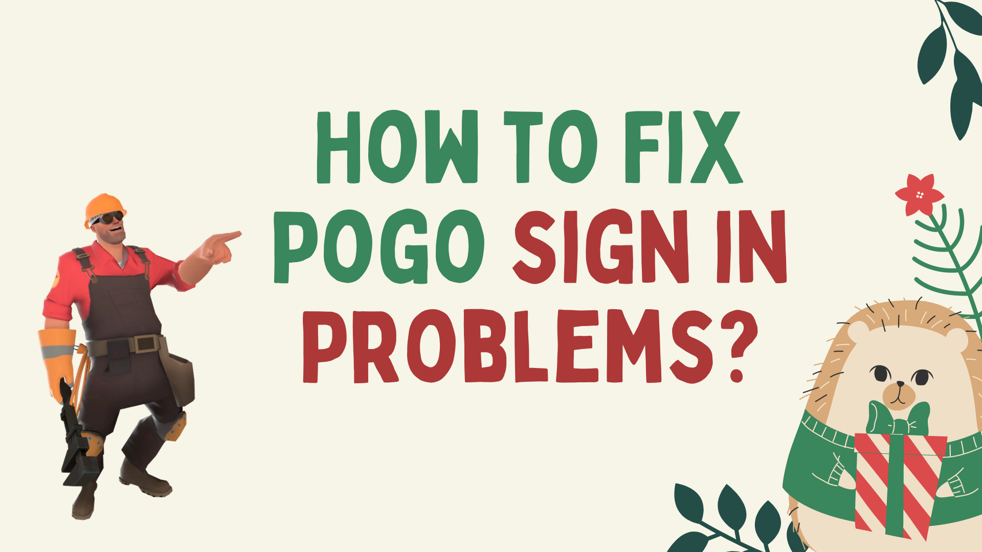 How to Fix Pogo sign in Problems?